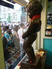A chocolate manneken pis: by jamesandjulie, Views[393]