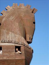 Troy horse at troy: by jamesandjulie, Views[122]