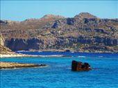 Ship wreck, Gramvousa: by jamesandjulie, Views[180]