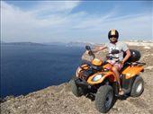cliff edge, Santorini: by jamesandjulie, Views[149]