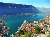 Kotor Old Town and view of bay: by jamesandjulie, Views[173]