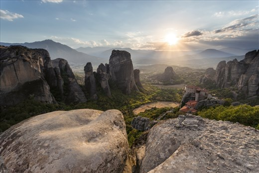 For years I had wanted to visit what looked like the magical place of Meteora in Northern Greece. In recent months it has become more popular due to being featured in the hit TV series