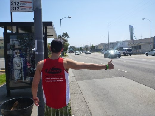 Hitchhiking to Hollywood