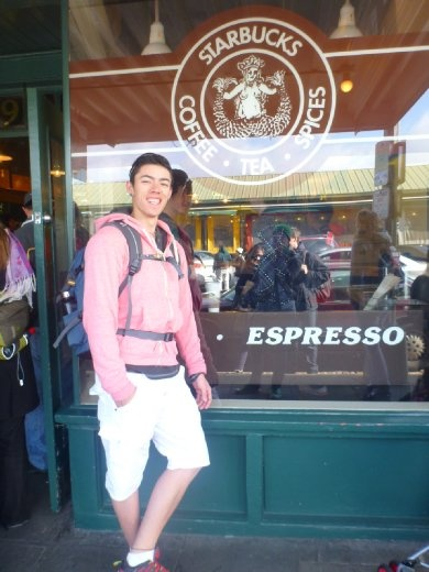 First Starbucks was in Seattle... (who cares!)