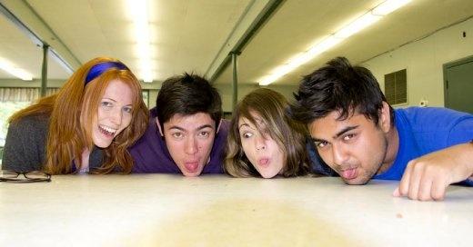 Lisa, myself, Brit and Saeed