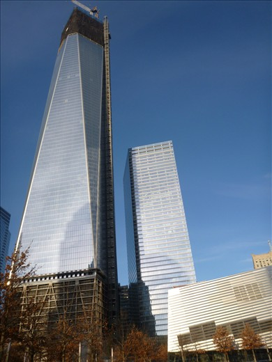 Construction of the new Freedom Towers