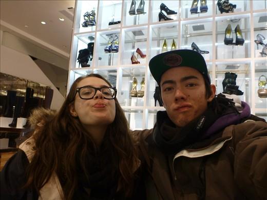 Shoe shopping...