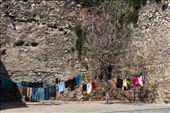 The old city walls make a perfect backdrop for laundry day in the neighbourhood of Zeyrek.: by jamielee, Views[447]