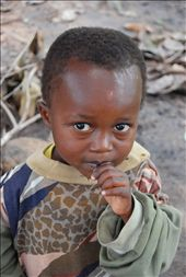 A nervous child in an African village: by jamiewhittlenewquay, Views[415]