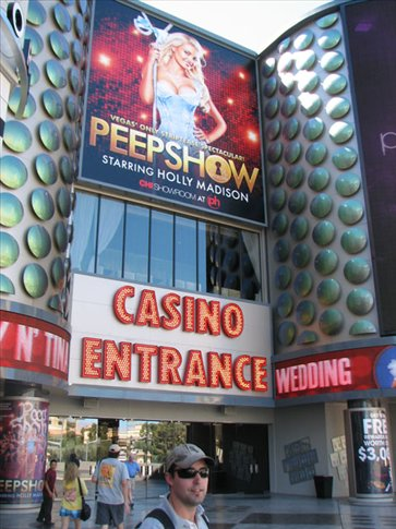 Peepshow. We were tempted, but we saw it all in the magazine.