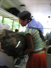 A local girl struggling with her bags. Instead of helping we just took a photo...: by jarrodkee43, Views[146]
