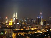 View from Motel in KL at night: by jarrodkrystal, Views[206]