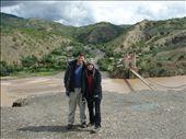 Some historic bridge under restoration halfway between Sucre and Potosi.: by jason_kidd, Views[213]