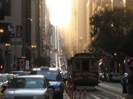 A typical San Francisco street