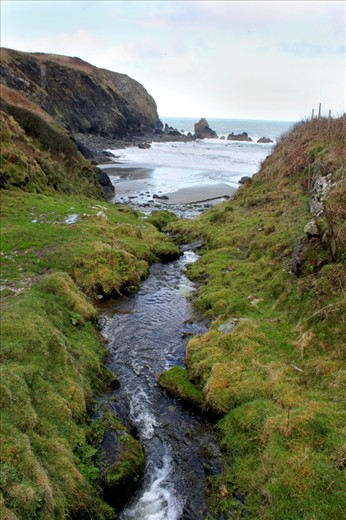 Weathering- The United Kingdom's only coastal national park was forged by thousands of years of erosion. The  forces that carved the Welsh coast are still actively altering it.