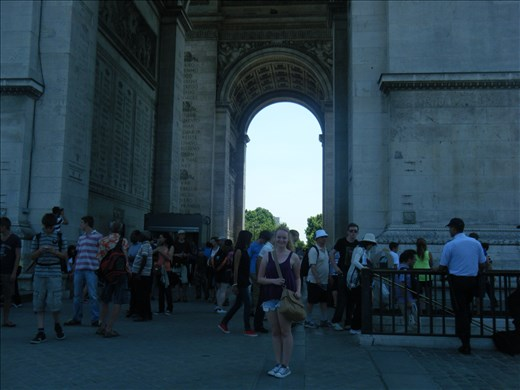 Arc de Triomph, Paris, France, July 2013