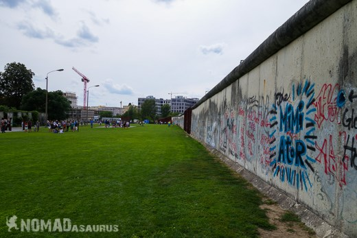 Stretch Of The Berlin Wall