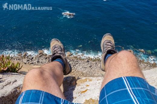 Feet Dangling Cabo Da Roca