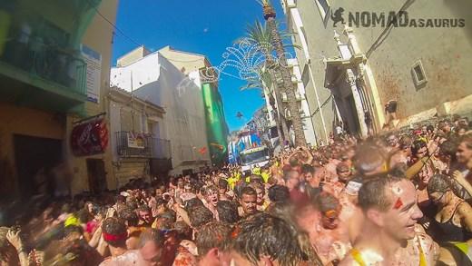 La Tomatina Big Crowd