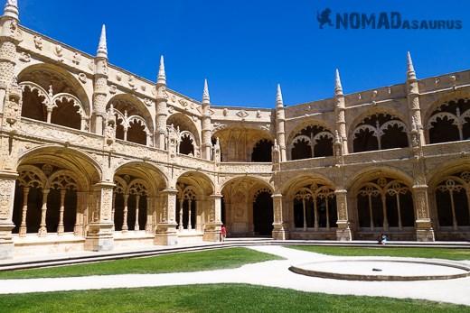 Jeronimos Monastery Courtyard