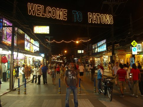 Crazy night life in Patong
