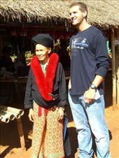 Sebastian with a Yao tribe member.: by jciecko, Views[225]