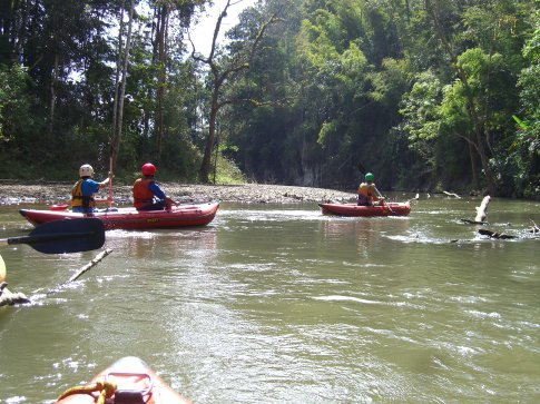 Kayaking the Kong River