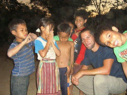 The kids of Ban Konglor