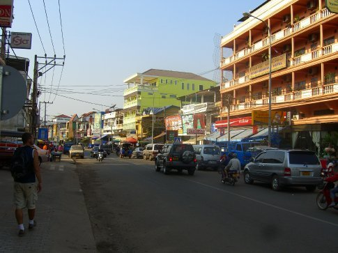 City scene... Vientiane
