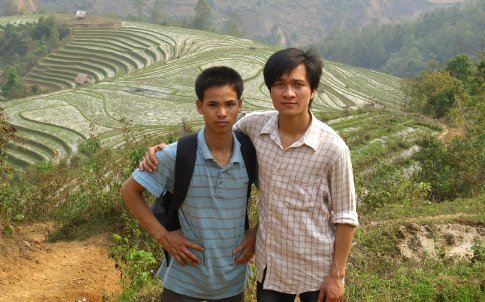 Ming our host and Nam our guide