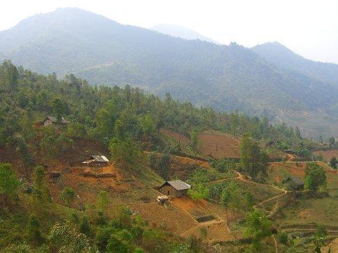 Nam Keng village (Xa Pho)