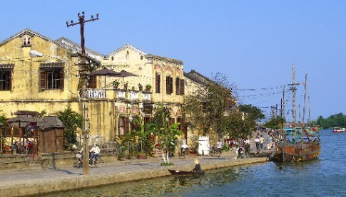 Hoi An riverfront