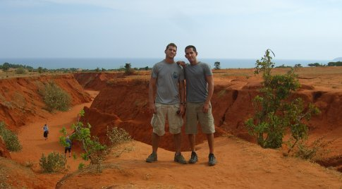 Red Sand Dunes outside of Mui Ne