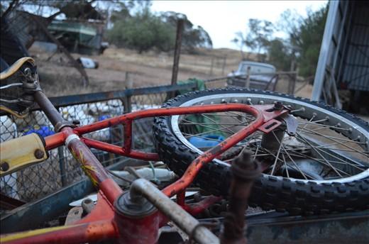 Childhood Joys Rusting Away on the Scrap Heap