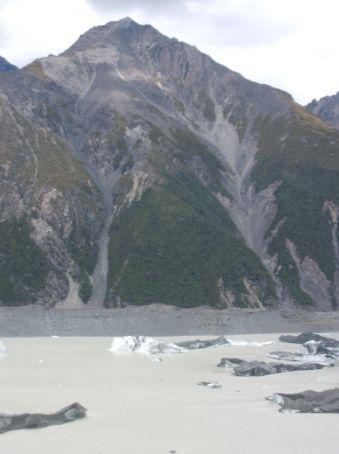 Glacier's lake