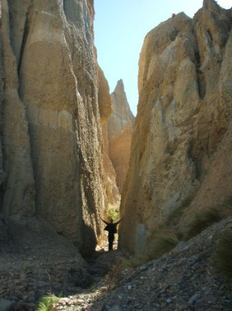 Clay cliff/Canyon d'argile