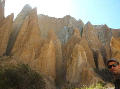 Clay Cliff near Twizel