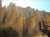 Clay Cliff near Twizel: by jeje-nadia, Views[850]