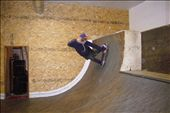 Jackson skates the vert ramp in the new Anti Social skate shop: by jen_and_the_boys, Views[920]