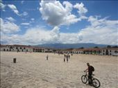 Villa de Leyva, biggest town square in Colombia apparently.: by jenc_13, Views[347]