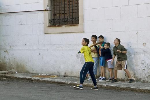 Boys Playing Baseball, La Habana Vieja