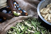 Matooke- one of the national dishes of Uganda- is served with every meal.: by jenny, Views[626]