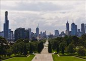 Melbourne, Victoria, Australia Visiting new places is exciting, walking around the streets, museum and attractions help me to meet people, understand its history and culture.  From my personal point of view, you need to find the right spot at the right high to really admire a new place.  When in Melbourne I look for the right location to capture the soul of the city, and that was the ANZAC Memorial, from where I was able to capture this road that leads to the heart of the modernity of the city, the beautiful gardens around the road give the friendly welcome to go around Melbourne and enjoy the attractions.: by jennyyvg, Views[262]