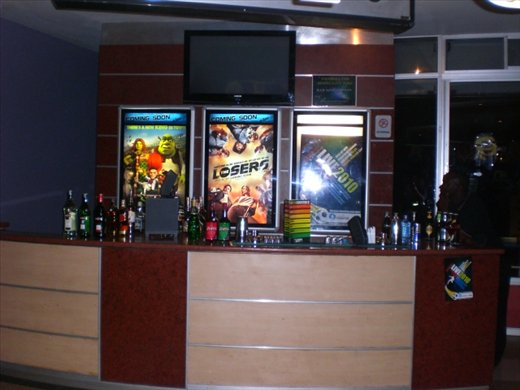 Bar at the movie theater?