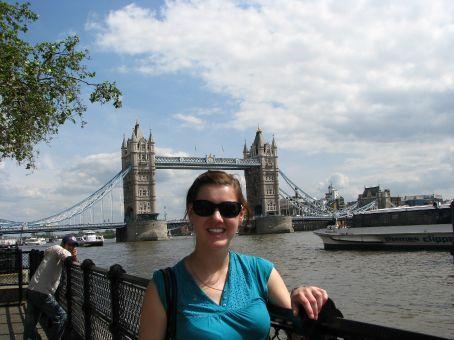 the london tower bridge..not the london bridge