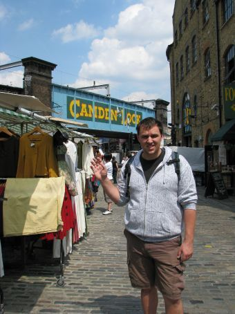 at the camden town markets