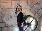 the use to torture prisoners in the castle by dropping the massive wheel on their arms to break them..ouch: by jess_dan, Views[194]