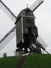the windmill in bruges: by jess_dan, Views[244]