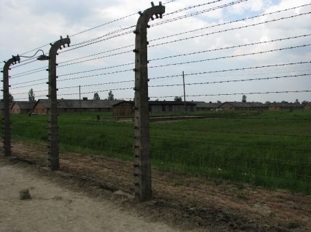 auschwitz birkenau..the larger of the two camps