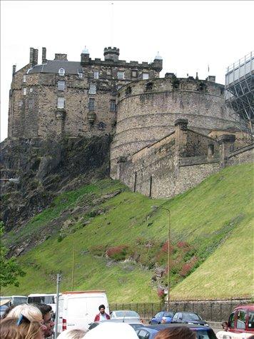 edinburgh castle...dans description